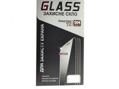 Закаленное защитное стекло для Samsung J100 Galaxy J1 (0.3 мм, 2.5D, с олеофобным покрытием)