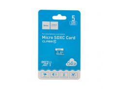 Карта памяти Hoco MicroSDHC 2.0 64gb