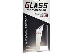 Закаленное защитное стекло с олеофобным  Meizu M3 mini  (0.3 мм, 2.5D, с белым Silk Screen 3D