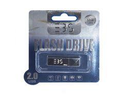 Usb flash drive 3bs 32gb 2.0 black (3bs32gb2bk)
