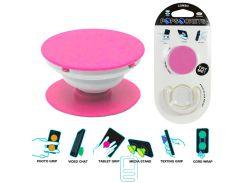 Держатель для телефона Popsocket розовый