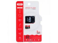 Карта памяти micro SD XO 32Gb class 10 + SD adapter