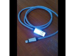 Зарядка кабель USB metal Lightning