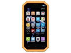 Мобильный телефон 2E E450R Dual Sim Yellow (708744071064) Grey!