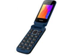 Мобильный телефон Nomi i246 Blue раскладушка красный! Б.У. Original
