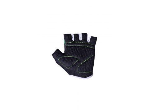 Велорукавички PowerPlay 001 Чорні листочки 2XS (FO83001_Black_2XS)