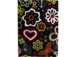 Обложка Paint Case Flower Black for iPad Air 2