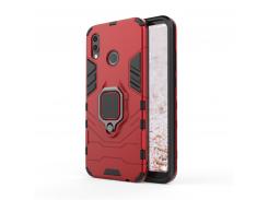 Чехол Ring Armor для Huawei P20 Lite Красный (hub_YYYF65331)