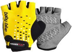 Велорукавички PowerPlay 5451 Жовті 3XS