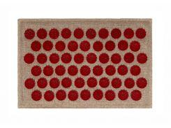 Массажный коврик Onhillsport Lounge Mini аппликатор Кузнецова 32 х 21 см Красный (LS-1002-1)