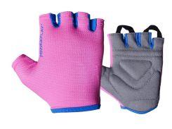Фітнес рукавички PowerPlay 3418 жіночі Розові M (FO83PP_3418_M_Pink)