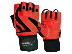 Рукавички для фітнесу PowerPlay 1064 E Червоні S (FO83PP_1064E_S_Red)
