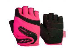 Рукавички для фітнесу PowerPlay 1729 жіночий Розові M (FO83PP_1729_M_Pink)
