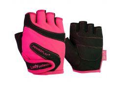 Рукавички для фітнесу PowerPlay 1729 жіночий Розові XS (FO83PP_1729_XS_Pink)