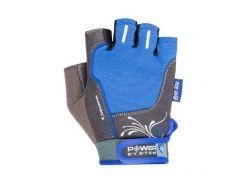 Перчатки для фитнеса и тяжелой атлетики Power System Woman's Power PS-2570 женские Blue XL (VZ55PS-2570_XL_Blue)