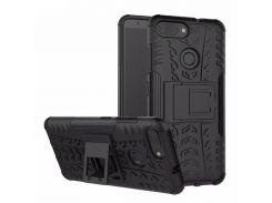 Чехол Armor Case для Asus Zenfone Max Plus (M1) ZB570TL Черный (hub_AebB18164)