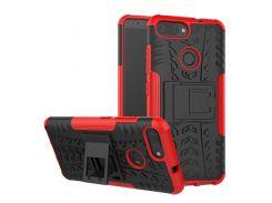 Чехол Armor Case для Asus Zenfone Max Plus (M1) ZB570TL Красный (hub_puRp92310)