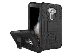 Чехол Armor Case для Asus Zenfone 3 (ZE520KL) Черный (hub_PFJu26773)