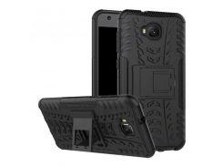 Чехол Armor Case для Asus Zenfone 4 Selfie (ZD553KL) Черный (hub_vQfH34319)