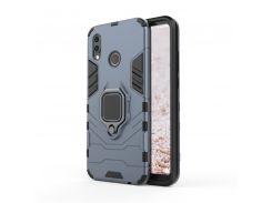 Чехол Ring Armor для Huawei P20 Lite Синий (hub_mXYu26755)