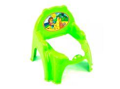 Горшок детский с крышкой Технок 4074 Зеленый (37031)