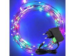 Светодиодная гирлянда Lighteer Technology Limited 10 м 100 led 220 В Разноцветная (hub_vWKH16907)