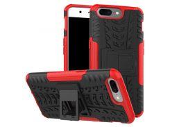 Чехол Armor Case для OnePlus 5 Красный (hub_CYtv62691)