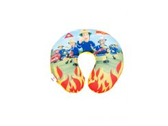 """Подушка под шею """"Пожарный Сэм"""" Disney 32х32х8см Разноцветный pbe0000343"""