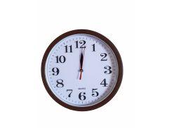 Настенные часы Abir 156RBR кварцевые круглые Коричневые