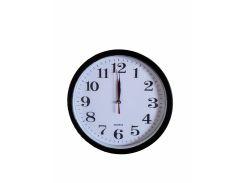 Настенные часы Abir 156RB кварцевые круглые Черные