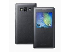 Чехол-книжка FINE LINE для  Samsung Galaxy Core Prime (G360), черный