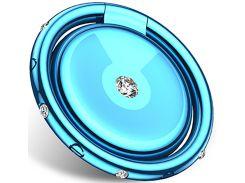 Автодержатель Usams US-ZJ028 Cartier Diamond-encrusted Ring Holder Blue (ZJ28ZJ03)