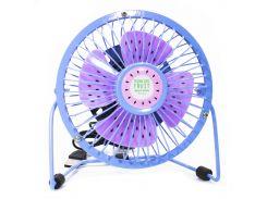 Портативный мини-вентилятор Sanhuai Fan Mini A18 Blue-Purple (3175-9867а)