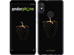 Силиконовый чехол Endorphone на Xiaomi Redmi Note 5 Черная клубника (3585u-1516-26985)