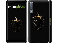 Силиконовый чехол Endorphone на Samsung Galaxy A7 A750F Черная клубника (3585u-1582-26985)