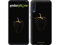 Силиконовый чехол Endorphone на Samsung Galaxy A50 2019 A505F Черная клубника (3585u-1668-26985)