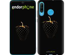 Силиконовый чехол Endorphone на Huawei P30 Lite Черная клубника (3585u-1651-26985)