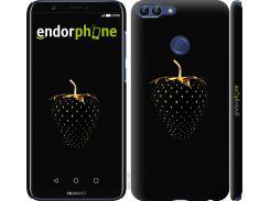 Силиконовый чехол Endorphone на Huawei P Smart Черная клубника (3585u-1346-26985)
