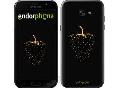 Пластиковый чехол Endorphone на Samsung Galaxy A7 Черная клубника (3585m-445-26985)