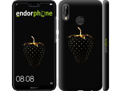 Силиконовый чехол Endorphone на Huawei P20 Lite Черная клубника (3585u-1410-26985)