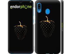 Пластиковый чехол Endorphone на Samsung Galaxy A30 2019 A305F Черная клубника (3585m-1670-26985)