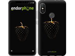 Пластиковый чехол Endorphone на Xiaomi Redmi Note 6 Pro Черная клубника (3585m-1551-26985)