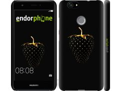 Силиконовый чехол Endorphone на Huawei Nova Черная клубника (3585u-439-26985)