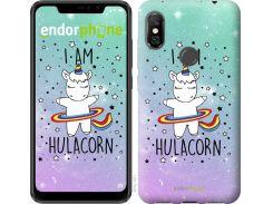 Силиконовый чехол Endorphone на Xiaomi Redmi Note 6 Pro I'm hulacorn (3976u-1551-26985)
