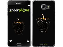 Панель Endorphone на Samsung Galaxy A7 (2016) A710F Черная клубника (3585u-121-26985)