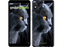 Силиконовый чехол Endorphone на Xiaomi Redmi Note 5 Красивый кот (3038u-1516-26985)