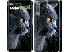 Панель Endorphone на Samsung Galaxy A7 (2018) A750F Красивый кот (3038m-1582-26985)