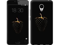 Чехол EndorPhone на Meizu M3s Черная клубника (3585m-943)