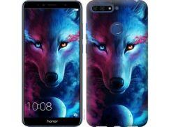Чехол EndorPhone для Huawei Honor 7A Pro Арт-волк (3999u-1440)