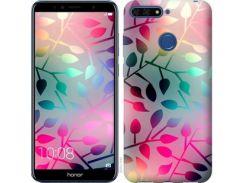 Чехол EndorPhone для Huawei Honor 7A Pro Листья (2235u-1440)
